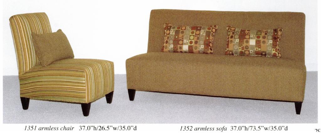 Carolinaseating Com Armless Sofa