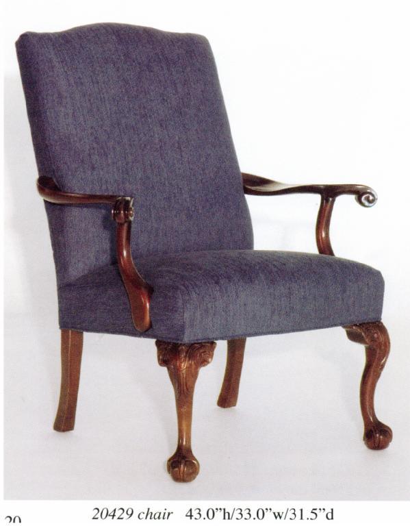 Wood Arm Chair Image
