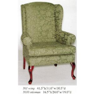 Wing Back Chair Image