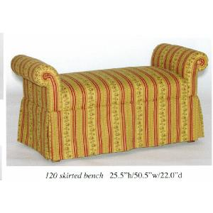 Skirted Bench Image